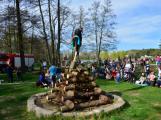 Čarodějnice na Nováku si užily především děti (7)