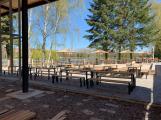 Jak to aktuálně vypadá s rekonstrukcí Junior klubu a výstavbou restaurace na Novém rybníku? (10)