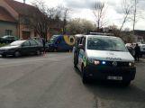Opatrně v Milínské, srazila se zde dvě auta (2)