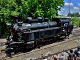 Na nádraží opět zasyčela pára a zasupěla parní lokomotiva (19)