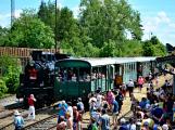 Na nádraží opět zasyčela pára a zasupěla parní lokomotiva (20)