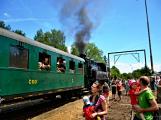 Na nádraží opět zasyčela pára a zasupěla parní lokomotiva (22)