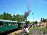 Na nádraží opět zasyčela pára a zasupěla parní lokomotiva (23)