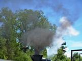 Na nádraží opět zasyčela pára a zasupěla parní lokomotiva (24)