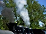 Na nádraží opět zasyčela pára a zasupěla parní lokomotiva (26)