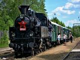 Na nádraží opět zasyčela pára a zasupěla parní lokomotiva (28)