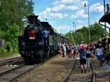Na nádraží opět zasyčela pára a zasupěla parní lokomotiva (16)