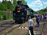 Na nádraží opět zasyčela pára a zasupěla parní lokomotiva (14)