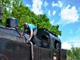 Na nádraží opět zasyčela pára a zasupěla parní lokomotiva (2)