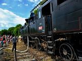 Na nádraží opět zasyčela pára a zasupěla parní lokomotiva (4)