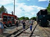 Na nádraží opět zasyčela pára a zasupěla parní lokomotiva (5)