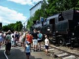 Na nádraží opět zasyčela pára a zasupěla parní lokomotiva (6)