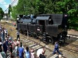 Na nádraží opět zasyčela pára a zasupěla parní lokomotiva (7)