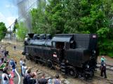 Na nádraží opět zasyčela pára a zasupěla parní lokomotiva (12)
