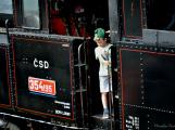 Na nádraží opět zasyčela pára a zasupěla parní lokomotiva (13)