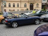 Motorkáři a plechovkáři přejeli českou Route 66 (14)