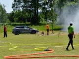 Hasičské arény zažily o víkendu sérii útoků (28)