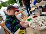 Novák Fest - děti se hýbaly, tvořily a zkoušely (46)