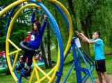 Novák Fest - děti se hýbaly, tvořily a zkoušely (2)