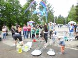 Novák Fest - děti se hýbaly, tvořily a zkoušely (13)
