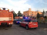V domě s pečovatelskou službou v Rožmitále pod Třemšínem zahořelo lůžko (9)