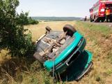 U obce Kardavec došlo v tuto chvíli k autonehodě se zraněním ()