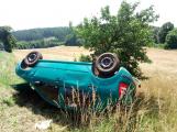 U obce Kardavec došlo v tuto chvíli k autonehodě se zraněním (2)