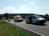 U obce Kardavec došlo v tuto chvíli k autonehodě se zraněním (4)