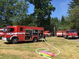 Aktuálně: Plameny zachvátily budovu na dětském táboře. Na místě je třicet dětí (31)