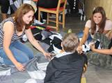 Na Dobříši vzniká rekordní pikniková deka (4)