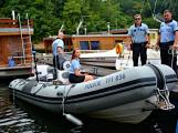 Hladinu Orlické přehrady křižovaly čluny Policie ČR a Státní plavební správy (37)