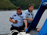 Hladinu Orlické přehrady křižovaly čluny Policie ČR a Státní plavební správy (33)