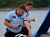 Hladinu Orlické přehrady křižovaly čluny Policie ČR a Státní plavební správy (31)