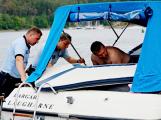 Hladinu Orlické přehrady křižovaly čluny Policie ČR a Státní plavební správy (29)