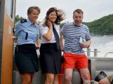 Hladinu Orlické přehrady křižovaly čluny Policie ČR a Státní plavební správy (44)