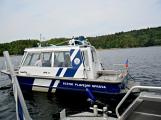Hladinu Orlické přehrady křižovaly čluny Policie ČR a Státní plavební správy (13)
