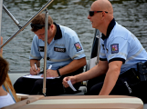 Hladinu Orlické přehrady křižovaly čluny Policie ČR a Státní plavební správy (14)
