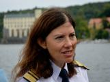 Hladinu Orlické přehrady křižovaly čluny Policie ČR a Státní plavební správy (18)