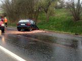 Vážná dopravní nehoda u Jablonné komplikuje provoz (1)