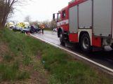 Vážná dopravní nehoda u Jablonné komplikuje provoz (3)