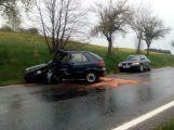 Vážná dopravní nehoda u Jablonné komplikuje provoz (4)