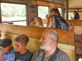Nádraží v Rožmitále zaplnily davy lidí (30)