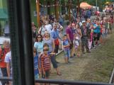 Nádraží v Rožmitále zaplnily davy lidí (8)