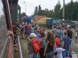 Nádraží v Rožmitále zaplnily davy lidí (28)