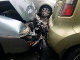 Další nehoda, tentokrát v Milínské ()