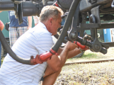 Nádraží v Rožmitále zaplnily davy lidí (41)