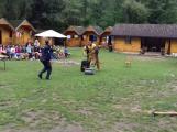 Psovodi z příbramské věznice navštívili dětské tábory (4)