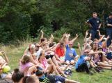 Psovodi z příbramské věznice navštívili dětské tábory (2)