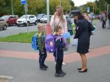Příbramští policisté upozorňovali školáčky na správné přecházení silnice (8)