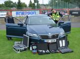 Dobříšský fotbalový stadion obsadily složky Integrovaného záchranného systému (14)